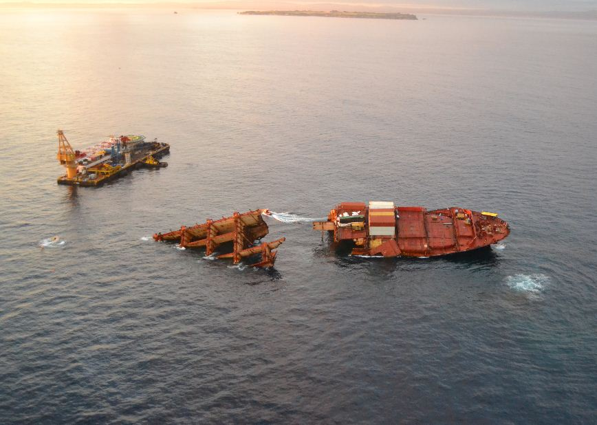 Costa Concordia Salvage Update